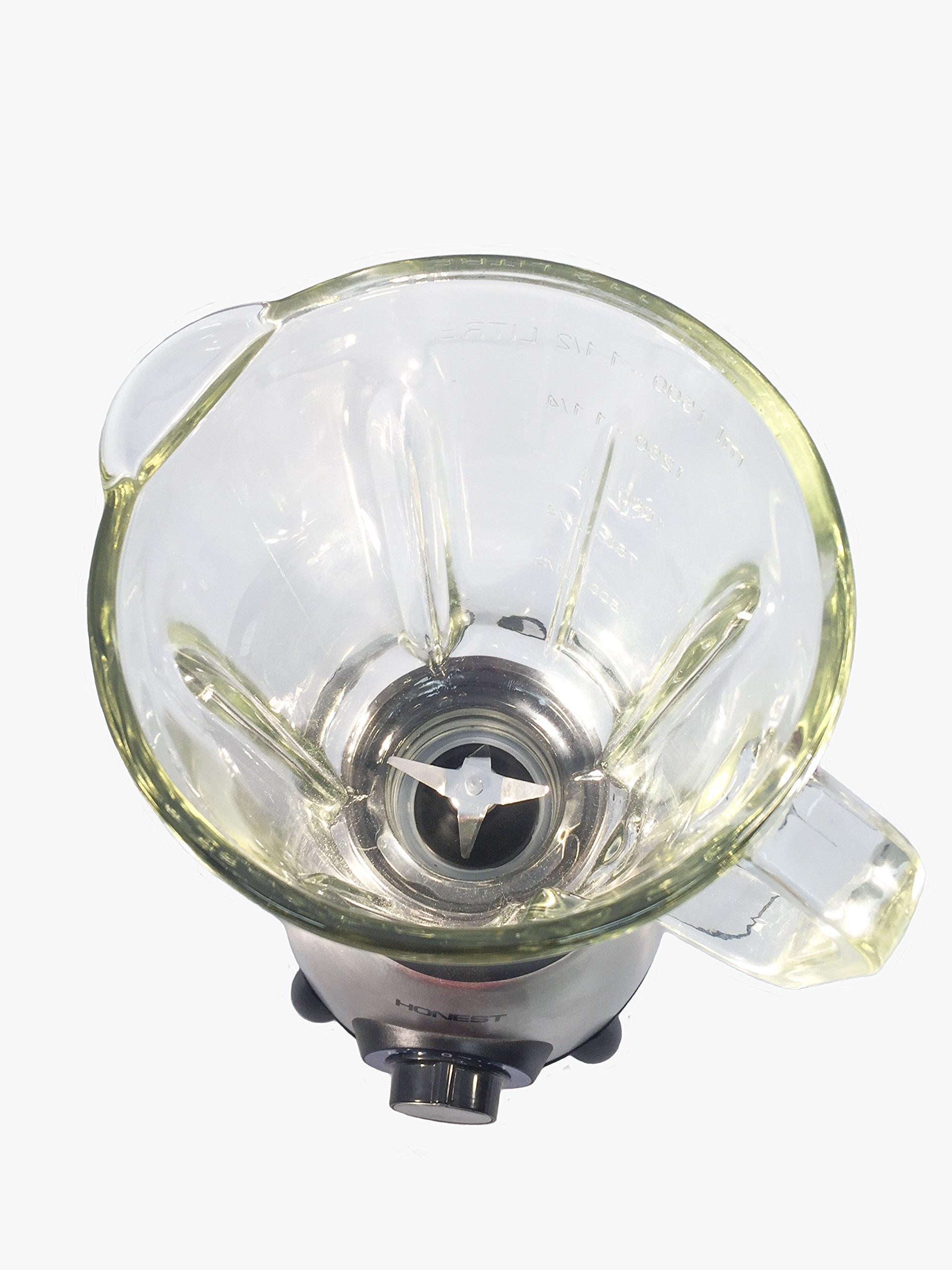 Honest Licuadora BL-600, Jarra Cristal de 1.5 l: Amazon.es
