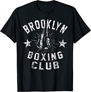 Brooklyn Boxing Club - vintage distressed Boxer T-Shirt