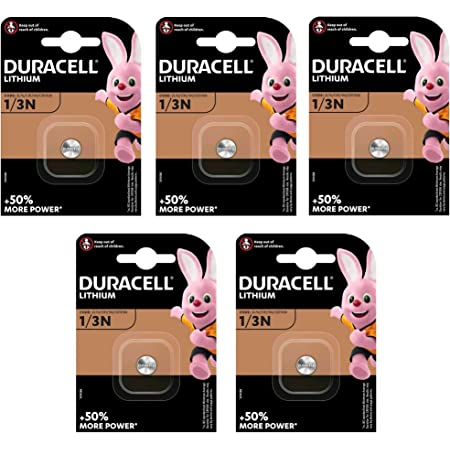 Duracell Dl1 3n 5x Lithium Batterie Dl1 3n 2l76 Cr11108 Elektronik