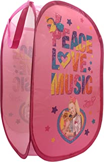 Jay Franco Nickelodeon JoJo Siwa Peace Love Music Pop Up Hamper, Pink