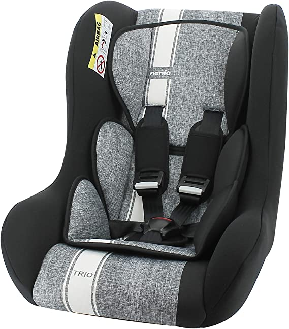 Nania children car seat TRIO group 0/1/2 (0-25kg) - Made in France - Linea grey: image