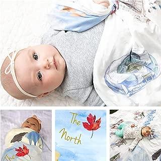 Large Baby Swaddle Blanket Canada Ultra Soft Stretchy for Swaddling Boy Girl Newborn