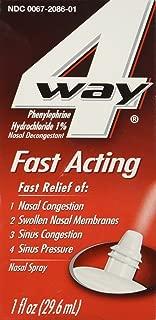 Best 4 way menthol saline nasal spray Reviews