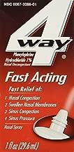 4-Way Fast Acting Nasal Spray, 1fl.oz