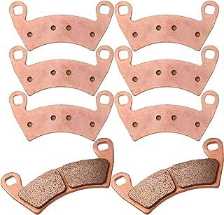 Sintered Brake Pads ECCPP Motorcycle Replacement Front and Rear Braking Pads Kits Set for 2014-2019 Polaris RZR XP 1000 EPS, 2008-2014 Polaris Ranger Crew 700 800 900 Ranger 800 RZR 4 XP 900 FA452