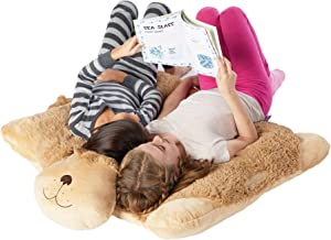 Pillow Pets Jumboz Snuggly Puppy Floor Pillow - Jumbo Plush Puppy Stuffed Animal Pillow