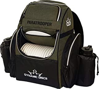 Dynamic Discs Paratrooper Disc Golf Bag   Frisbee Golf Backpack Bag with 18+ Disc Capacity   Extra Storage Pockets   Padde...