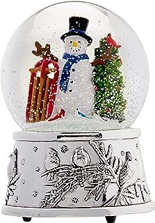 Reed & Barton Snowmen & Sleigh Snowglobe