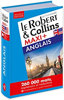 Robert et Collins Maxi Plus Anglais: Includes device for free access to online content