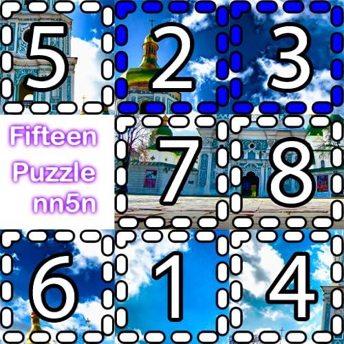 Fifteen puzzle nn5n