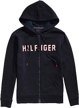 Hoodie Sweatshirt with Magnetic Zipper Closure