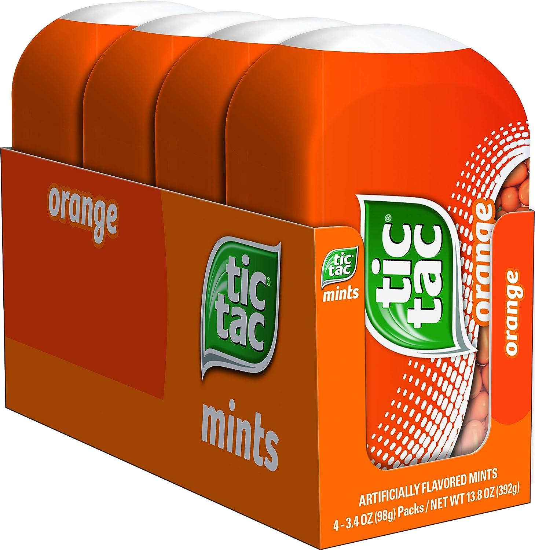 Tic Tac Fresh Breath OFFer Mints Orange Hard Candy Bulk 3.4 New mail order o