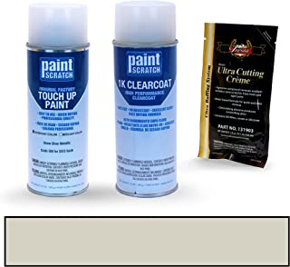 PAINTSCRATCH Snow Silver Metallic 309 for 2010 Saab 9-3 - Touch Up Paint Spray Can Kit - Original Factory OEM Automotive Paint - Color Match Guaranteed