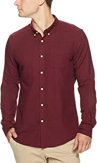 French Connection Men's Marl Slim Fit Shirt