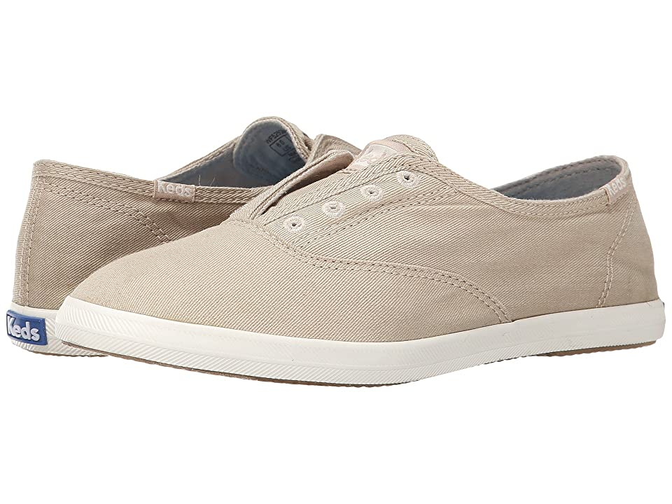Keds Chillax (Taupe) Women's Slip on Shoes