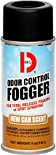 Big D 343 Odor Control Fogger, New Car Scent, 5 oz (Pack of 12) - Kills odors from fire, flood, decomposition, skunk, cigarettes, musty smells - Ideal for use in cars, auto detailing - Leather fragrance