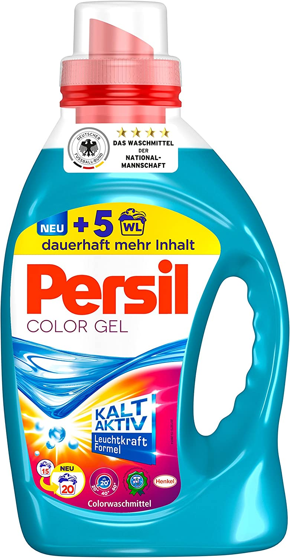Persil Color Gel Liquid Sales for sale Laundry Detergent Loads 20 Save money