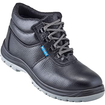 Neosafe A7025_9 Helix, High Ankle Black Safety Shoes with Steel Toe, Size 9