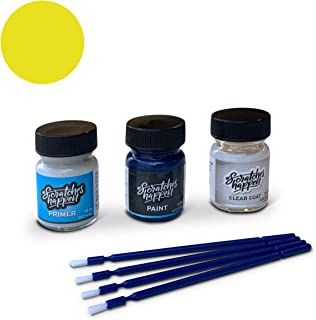 ScratchesHappen Exact-Match Touch Up Paint Kit Compatible with Hyundai Sunny Yellow/Tuscani Yellow (YY) - Preferred