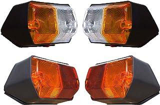 Zijaanwijzer en Achterlichten Lamp Set met 12v lampen Geschikt voor Fiat Tractor 250 250DT 300 300DT 300J 350 350DT 400 400DT