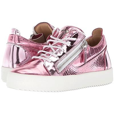 Giuseppe Zanotti G-Heel Ankle Boot (Elettra Pink) Women