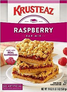 Krusteaz Raspberry Bars Supreme Mix, 1.18 Pound (Pack of 12)