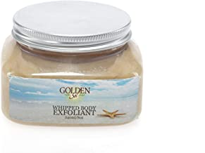 Bon Vivant Salon Organic and Natural Whipped Body Scrub with Olive Oil by Golden Sol (8oz) has Aloe - Coconut Oil - for Perfect Glowing Skin