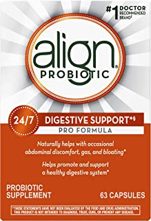 Align Probiotic Pro Formula, #1 Doctor Recommended Brand, Helps Soothe Occasional Gas, Abdominal Discomfort, Bloating to S...