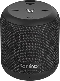 Infinity (JBL) Fuze 100 Dual EQ Deep Bass IPX7 Waterproof Dual Connect Portable Wireless Speaker (Charcoal Black)