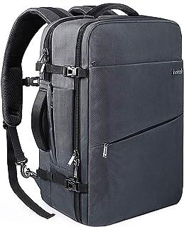 Inateck 40L 超大容量 ビジネス リュック 旅行 リュック 軽い 3way バックパック 機内持ち込み 収納力抜群 出張 撥水加工 盗難防止 15.6-17インチPC バッグ