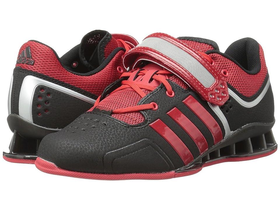 adidas adipower Weightlift (Black/Scarlet/Tech Grey Metallic) Men