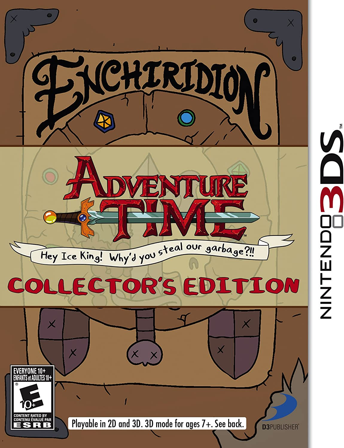 Adventure Time  Hey Ice King  Why'd you steal our garbage Collector's Edition 3DS