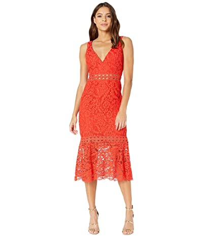 Bardot Fiona Trumpet Dress (Grenadine) Women