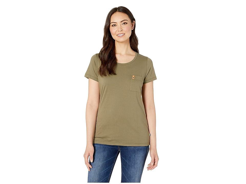 Fjallraven Ovik T-Shirt (Green) Women