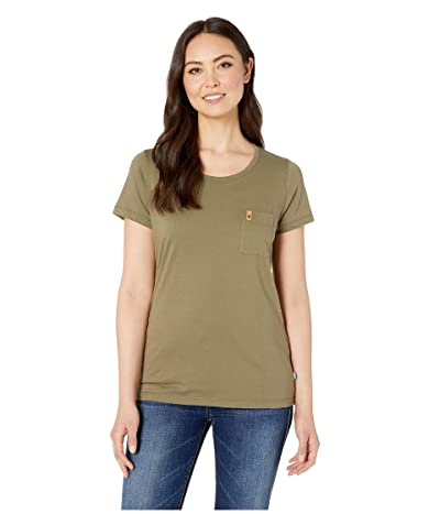 Fjallraven Ovik T-Shirt (Green) Women