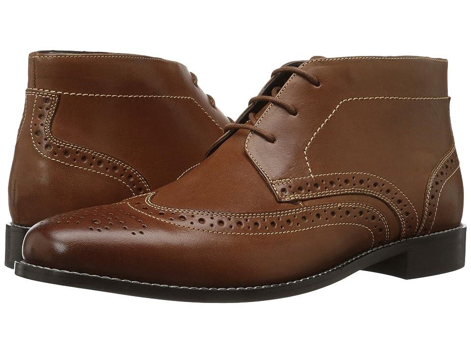 Nunn Bush Nichols Wingtip Chukka Boot (Cognac) Men