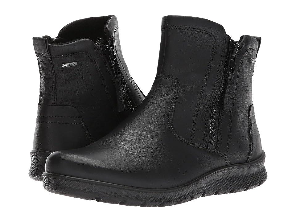 ECCO Babett GTX Bootie (Black Cow Leather) Women