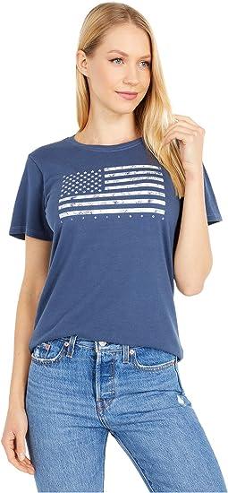 Classic Flag USA Crusher Tee