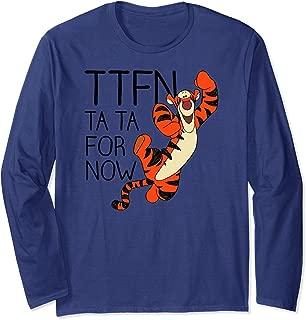Disney Winnie the Pooh Tiger Ta Da for Now Long Sleeve T