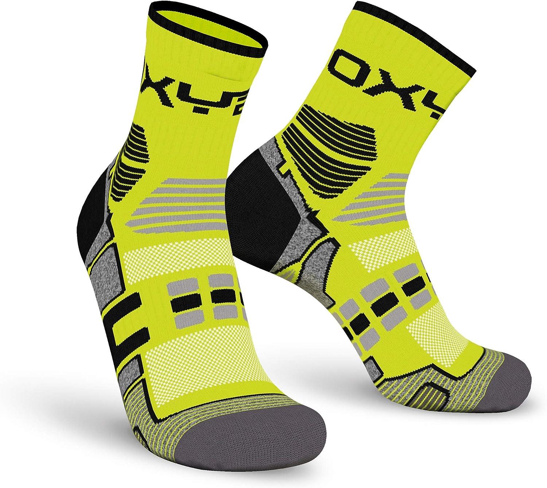 Oxyburn Herren Multisport Short-cut Socken