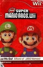 New Super Mario Bros Wii Instruction Booklet (Nintendo Wii Manual Only) (Nintendo Wii Manual)