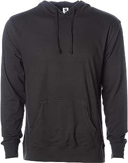Men's Long-Sleeve Performance T-Shirt Lightweight Pullover Hooded Sweatshirt