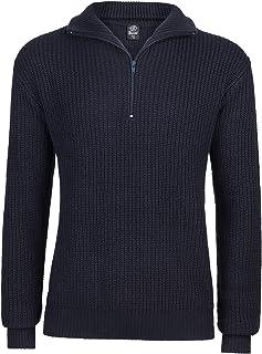 Brandit Marine Pullover Troyer Maglione Uomo