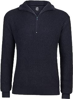 100/% COTONE PRIMAVERA Pullover mezza zip Mountain Warehouse Da Uomo Girocollo con zip