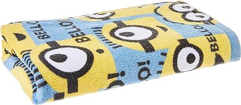 Disney Minion Japan imported Cotton hand towel, 34 cm x 80cm