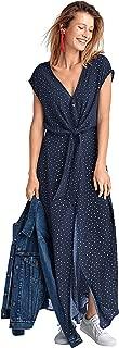 Ellos Women's Plus Size Tie-Front Maxi Dress
