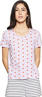 United Colors of Benetton Women's Polka Dot T-Shirt