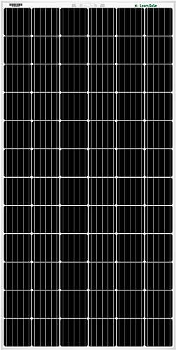 Loom Solar Panel 375 watt - 24 Volt Mono PERC (Pack of 2)