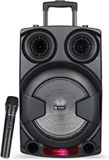 Zoook - Blue ZB-Rocker Thunder XXL Bluetooth Trolley Speaker with Karaoke, 70 Watts, Black