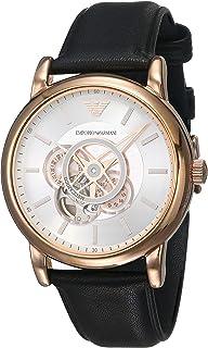 Emporio Armani Luigi Automatic Silver Dial Men's Watch AR60013